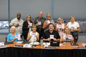 Talbot school board goes purple