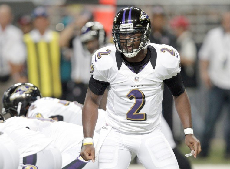 Ravens' Taylor plays role of training partner Vick in practice ...