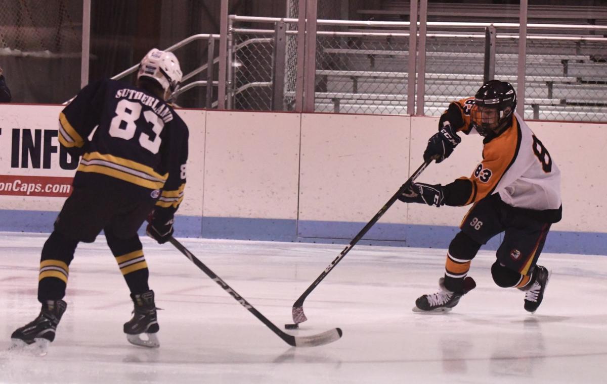 Falcons Warriors ice hockey