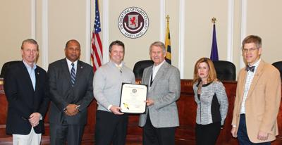 Jones recognized by state, county for service in health care