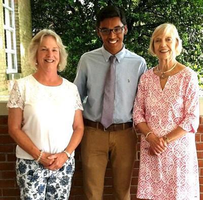 Joshi receives garden club scholarship