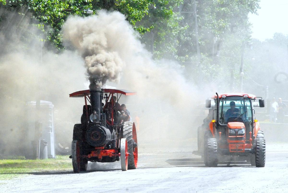 Tuckahoe steam show this weekend