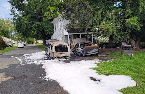 Slacum Street auto arson