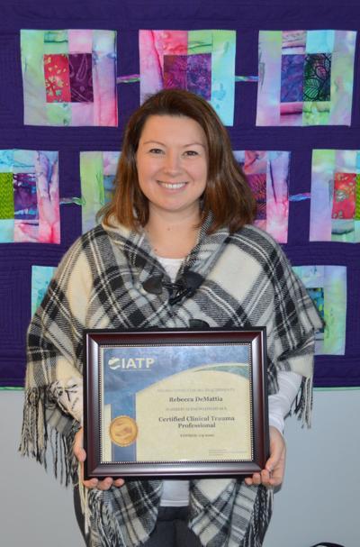 DeMattia earns trauma certification