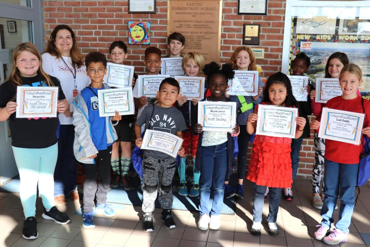 Easton Elementary hosts literacy 'camp-out'