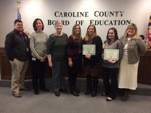 Caroline teachers recognized for technology use in classroom