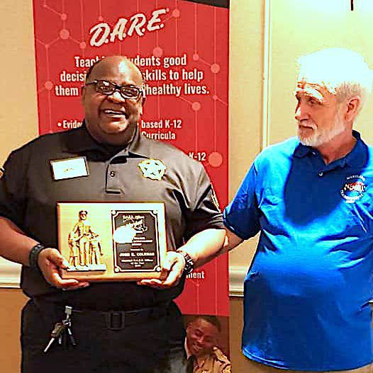 John Coleman named Maryland State D.A.R.E. Officer