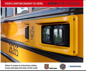 Citations for illegal passing of school bus in effect March 1