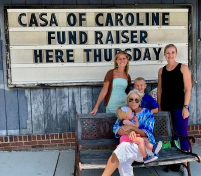 CASA of Caroline raises funds at Katie Mae's in Preston