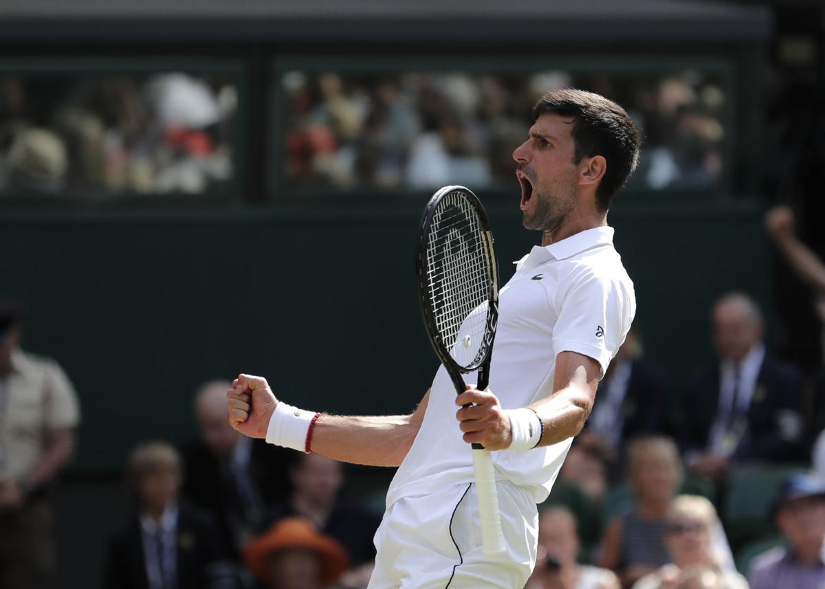 Wimbledon Men's Final: Roger Federer vs. Novak Djokovic