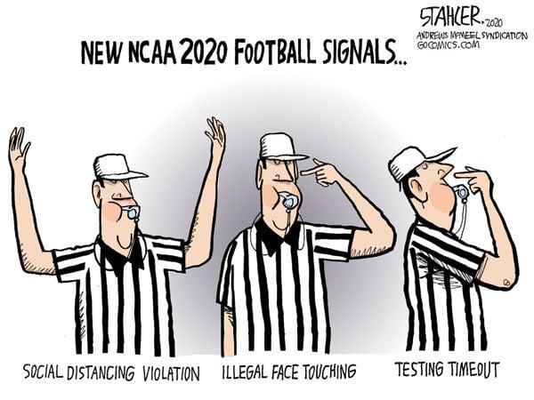 NCAA signals