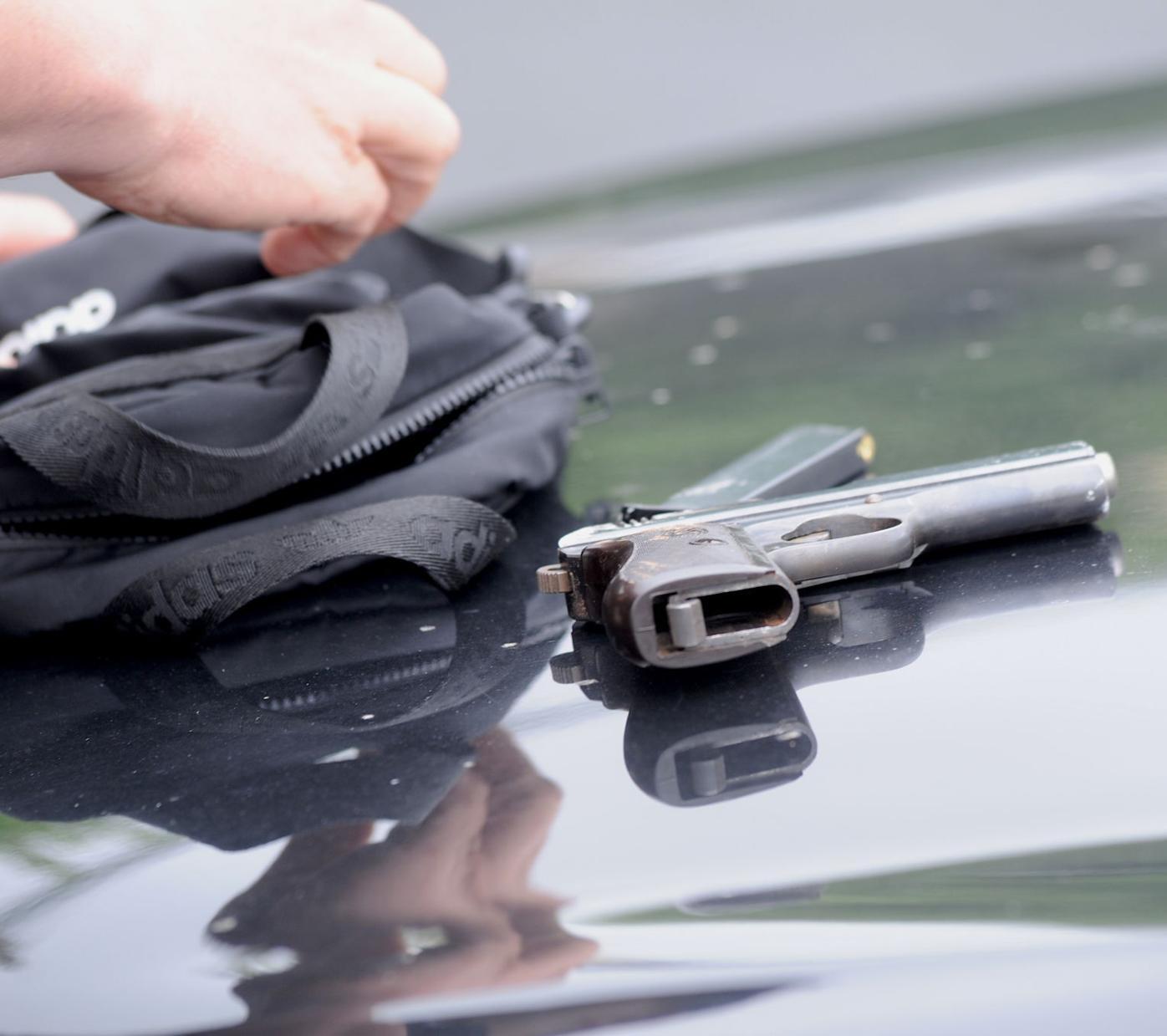 Guns Drawn in Cambridge drug bust