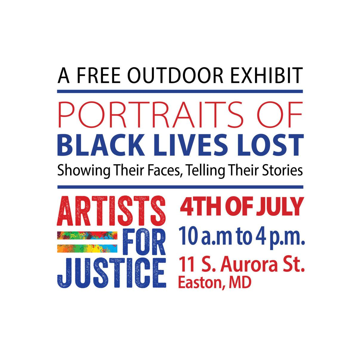 Artists for Justice honor Black lives lost on Fourth of July