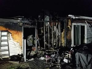 Smoking materials cause structure fire