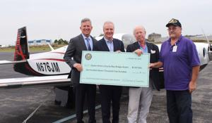 Van Hollen presents $607,500 for airport