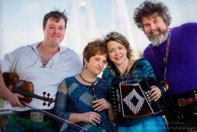 Friday Nites in Caroline presents OCEAN Celtic Quartet in concert