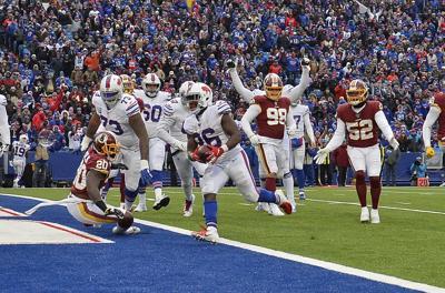 Redskins Lose To Bills, Fall To 1-8