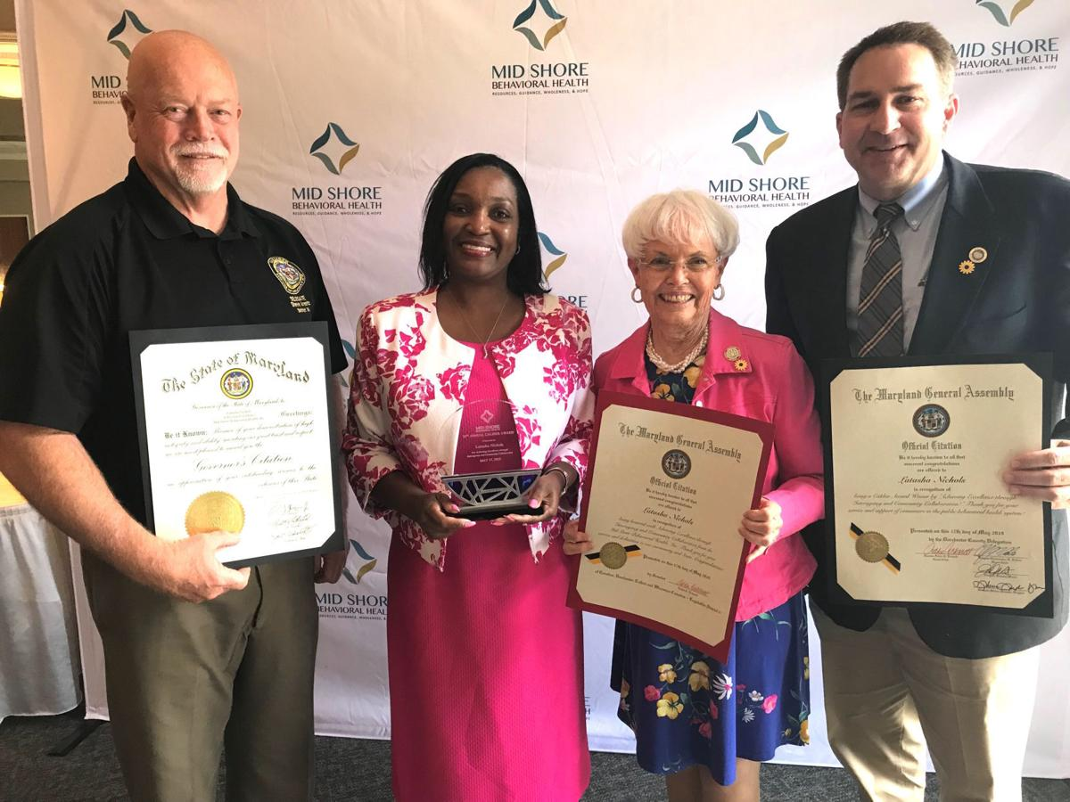 Behavioral health community honored
