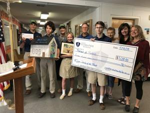 Sts. Peter and Paul High School supports Habitat Choptank