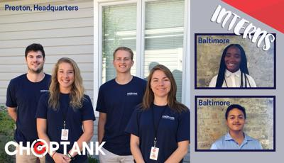 Six students intern at Choptank Transport