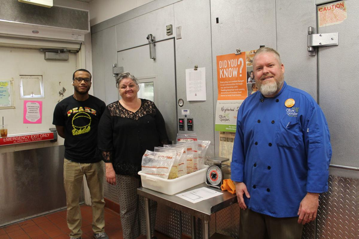 local businesses like the olive garden donate excess fresh food to help the neighborhood service center feed people throughout talbot county - Olive Garden Donation Request