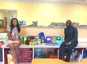 Choptank Elementary receives donation of school supplies