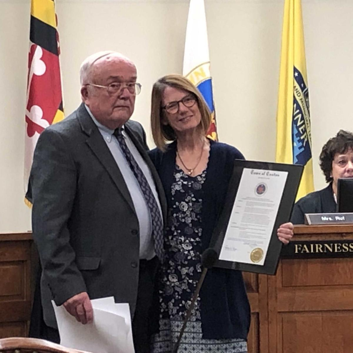 Easton council honors John Ford