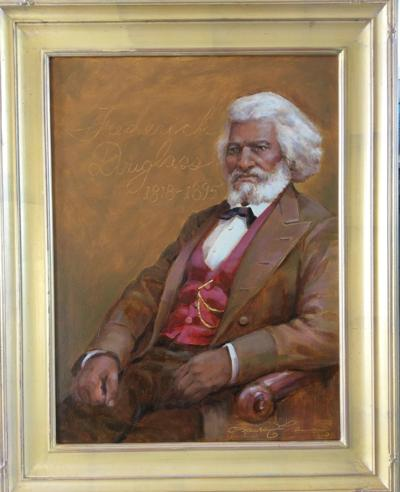 Portrait to be unveiled on Frederick Douglass Day
