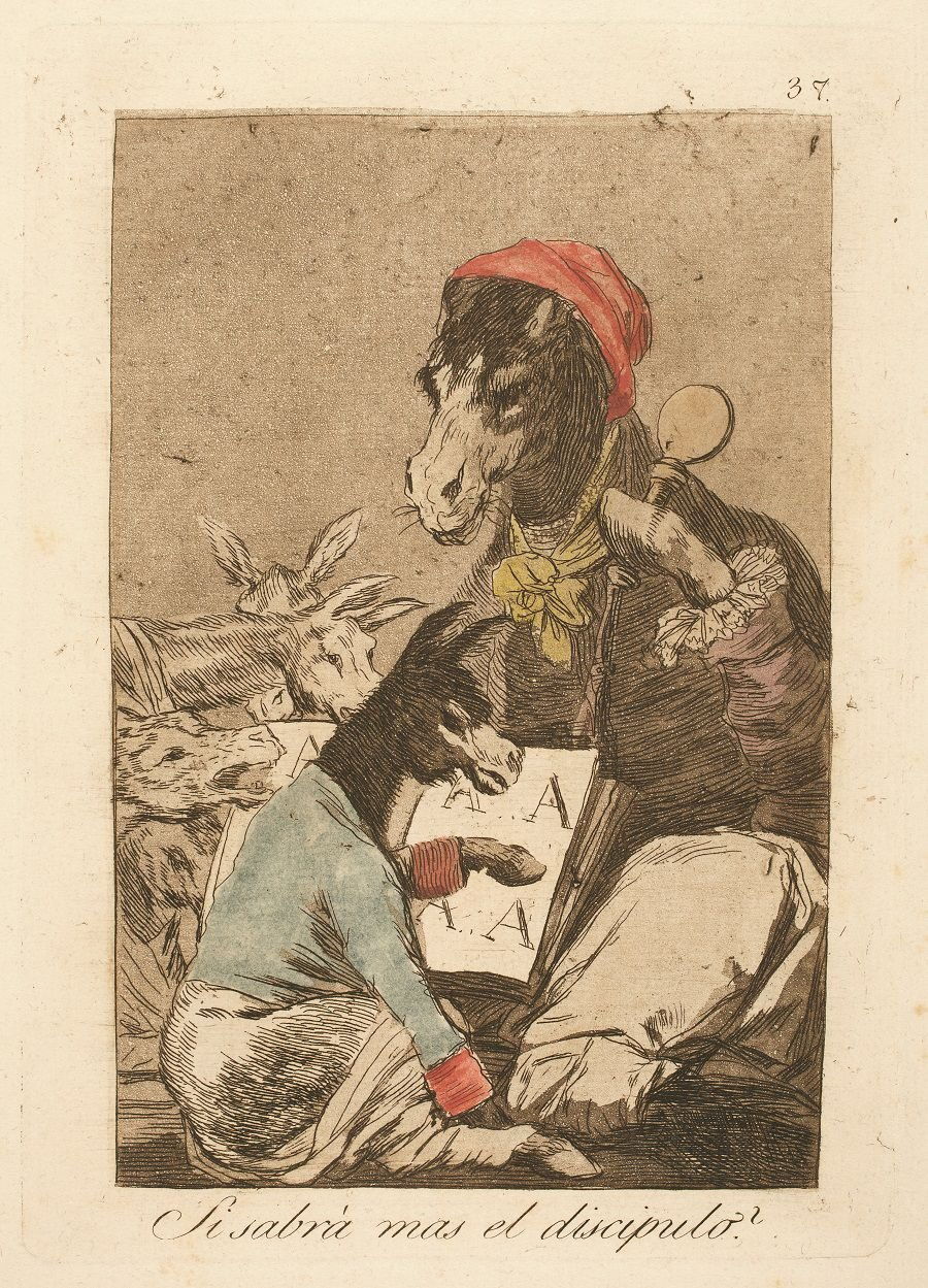 Museum featuring 'The Caprichos: Goya and Lombardo' | Arts ...