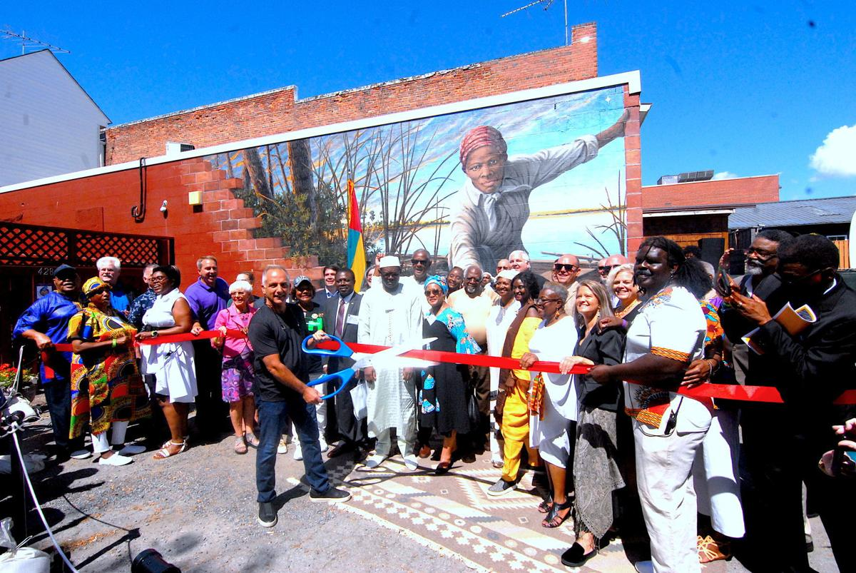 Mural dedicated during Day of Resilience