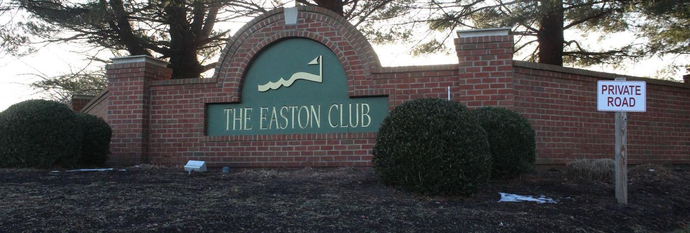 Easton Club sign