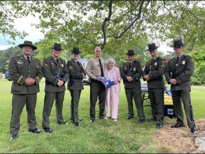 DNR police honor retired sergeant in Talbot County