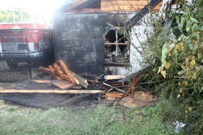 Peach Blossom Avenue garage arson