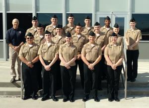 NJROTC excels at drill meet