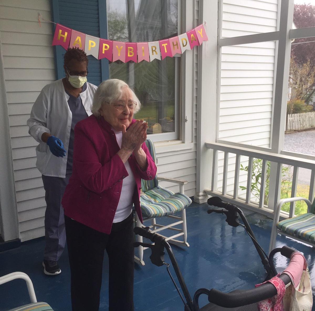 Easton woman celebrates 101st birthday