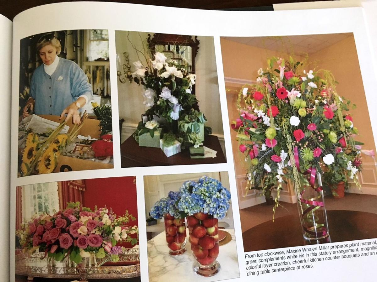Talbot County Garden Club book wins national award | Local ... on standard flower show table designs, garden club underwater designs, winning garden club flower designs,