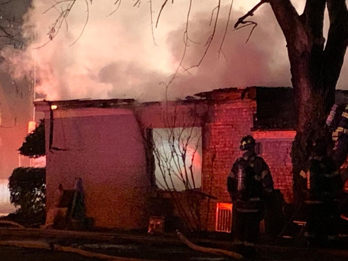 Fire partially destroys Hanson Street business