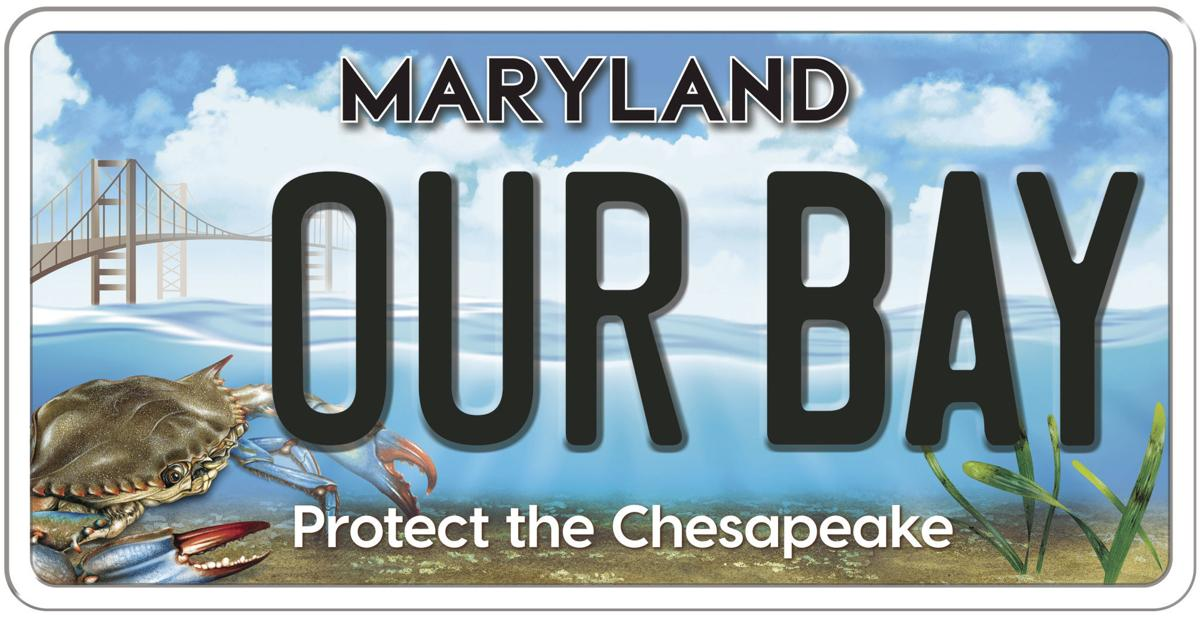 Chesapeake Bay Trust raises funds with new Maryland license plate design