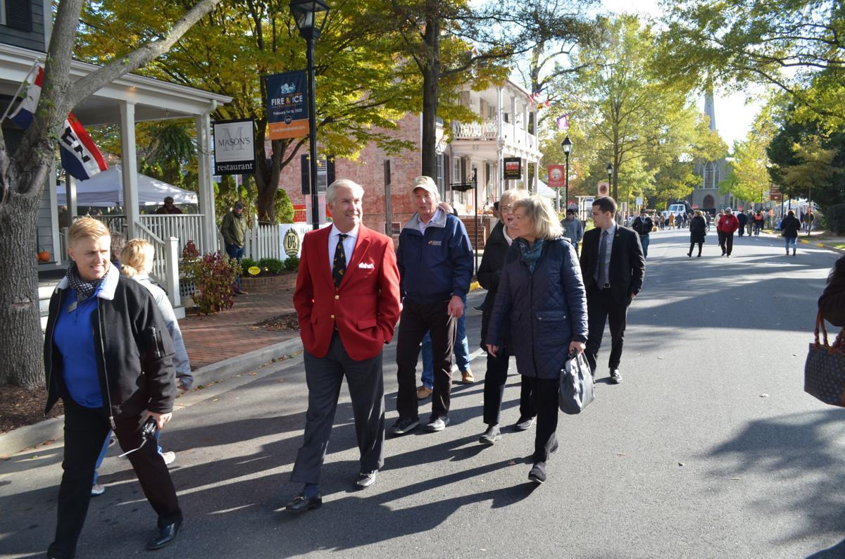 Comptroller Franchot visits Waterfowl Festival