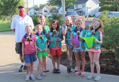 Local scouts help save honey bees