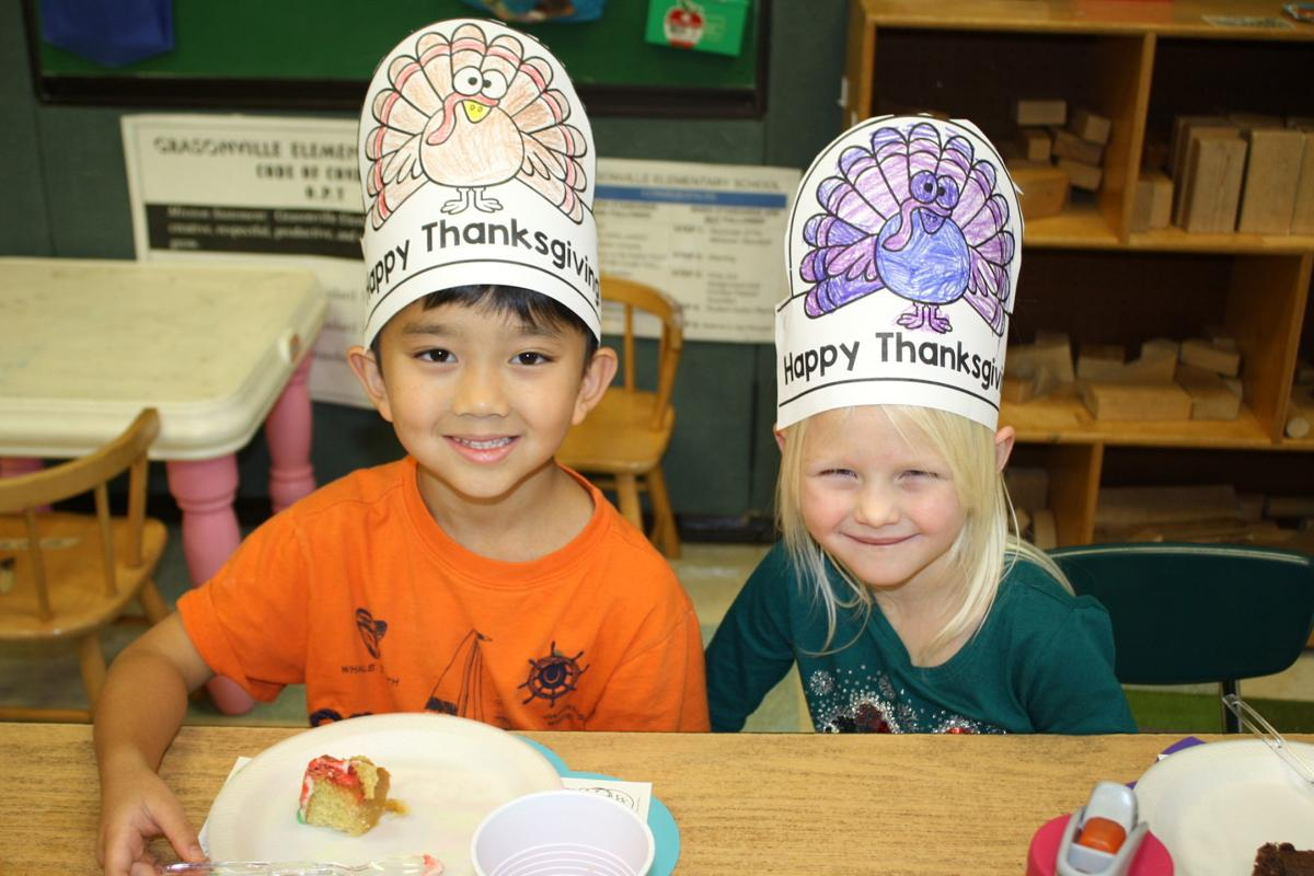 Grasonville Elementary celebrates Thanksgiving