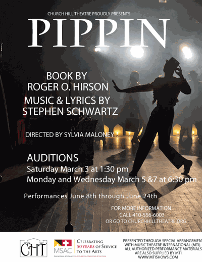 Church Hill Theatre sets 'Pippin' auditions | Arts | stardem com