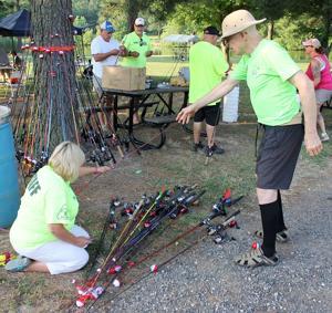 KI Elks host 162 kids at fishing derby