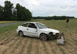 Crash in Sudlersville leaves one injured