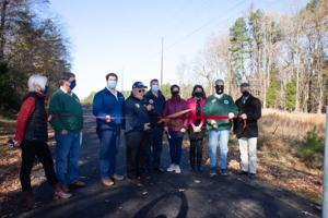 Section of new hiking trail completed in Easton