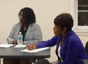 Social Action Committee quizzes board of ed candidates on issues of race