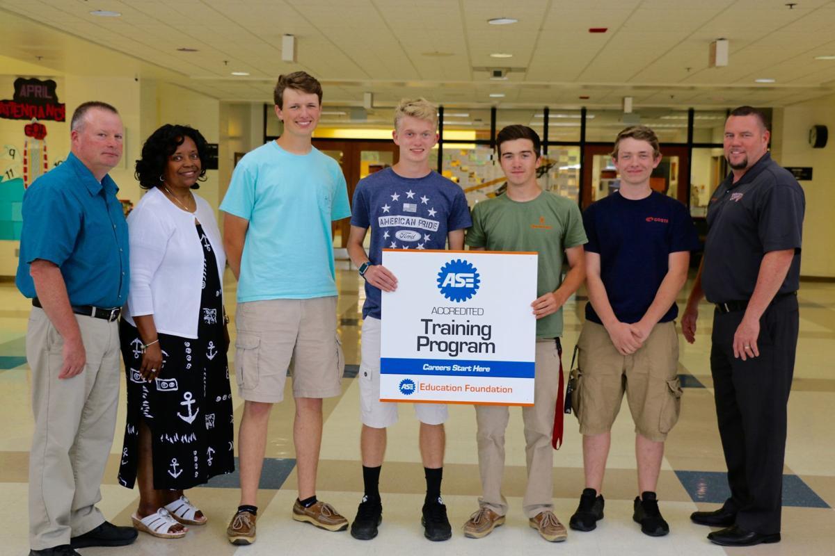EHS receives automotive education re-certification   Spotlight ...