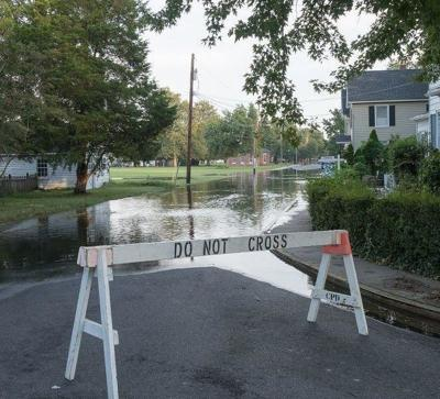 'Sunny day' flooding on the rise along the Chesapeake