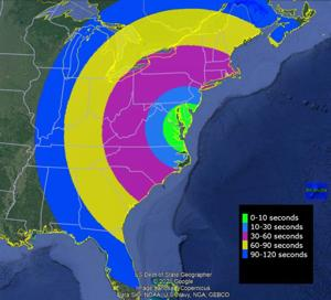 NASA rocket launch from Eastern Shore could be viewed across eastern U.S.