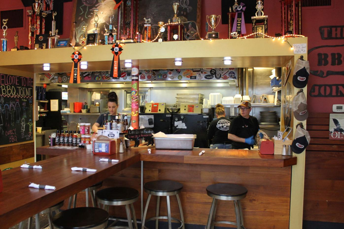 Easton BBQ lowdown: Rise Up Coffee's Cureton takes over the 'Joint'